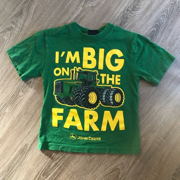 John Deere Other - John Deere Tractor t-shirt size 4